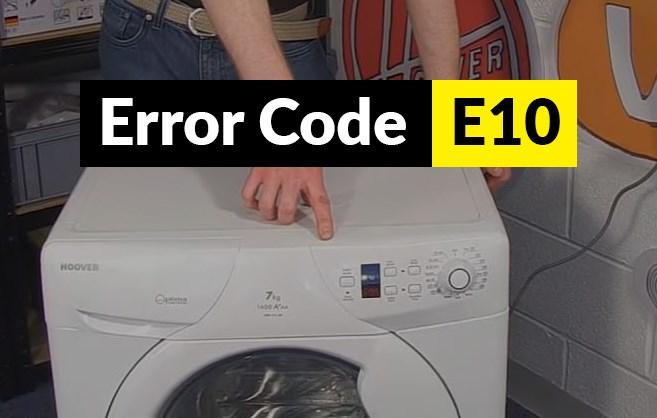 kode error mesin cuci electrolux e10