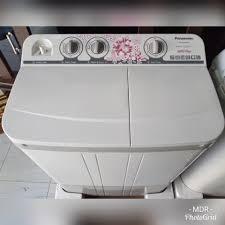 mesin-cuci-2-tabung-PANASONIC-NA-W76BBZ2 spin tidak berputar